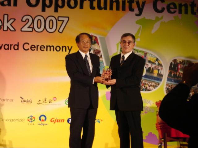 Premiación Taiwán