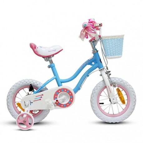 Bicicleta Royal Baby Niña Star Aro 12 Azul