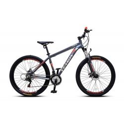 """Bicicleta 27.5"""" Mtb Veason Disco Gris/Roja"""