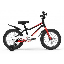 Bicicleta con rueditas Chipmunk Niño 16 Summer Negra