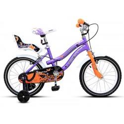 "Bicicleta Aro 16"" Niña Purpura"