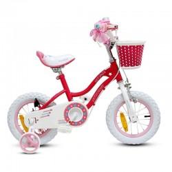 Bicicleta Royal Baby Niña Star Aro 12 Rosa