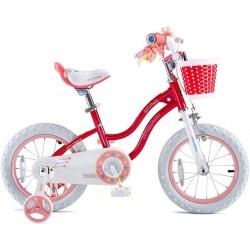 Bicicleta Royal Baby Niña Star Aro 16 Rosa