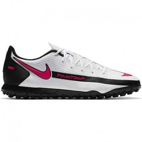 Nike Phantom Gt Club Tf football shoe white